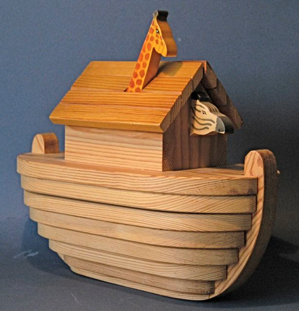Thanks for your interest in my Noah's Ark design.